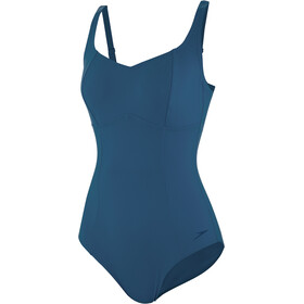 speedo ContourLustre 1 Piece Swimsuit Women arabian night